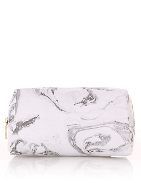 Marble Print Make-Up Bag