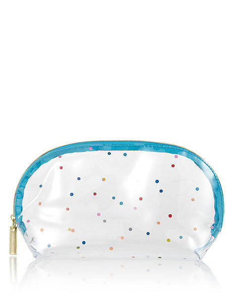 Clear Spots Make-Up Bag