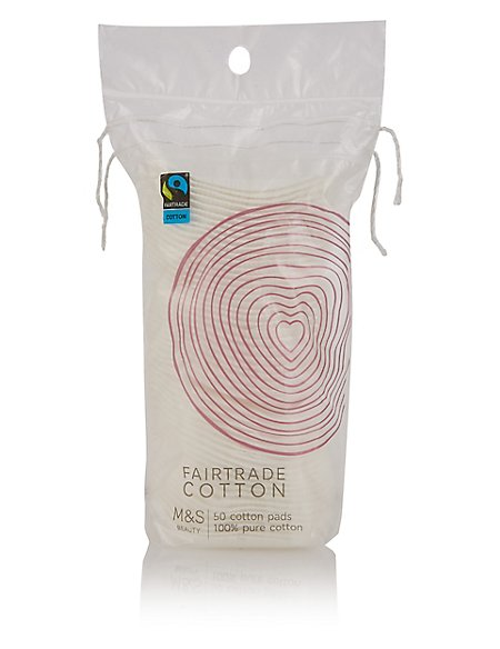 50 Fairtrade Cotton Pads