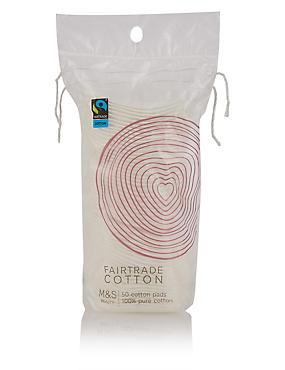 50 Fairtrade Cotton Pads