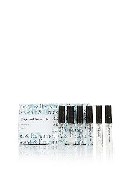 Fragrance Vial Discovery Set