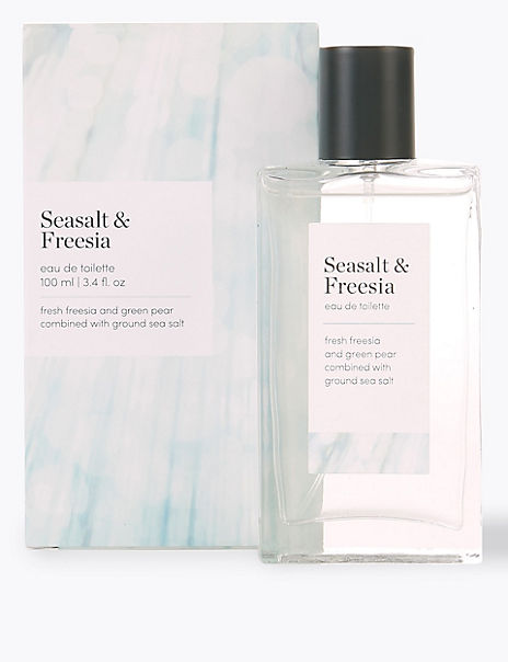 Seasalt & Freesia Eau de Toilette 100ml