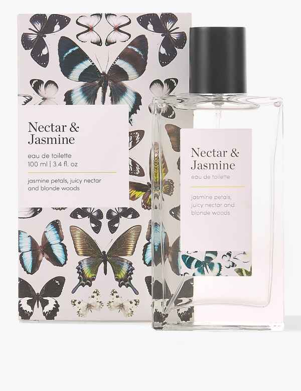 Nectar & Jasmine Eau de Toilette 100ml | M&S Collection | M&S