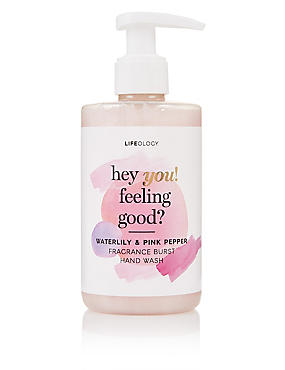 Waterlily & Pink Pepper Fragranced Burst Hand Wash 250ml