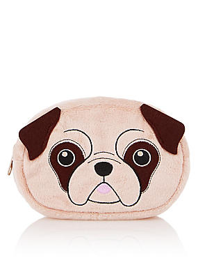 Pug Make-Up Bag