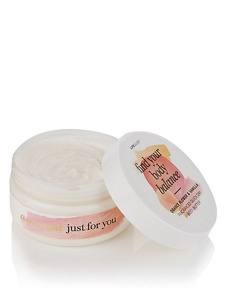 Orange Flower & Vanilla Fragranced Quick Dry Body Butter 250ml