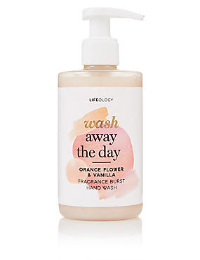 Orange Flower & Vanilla Fragrance Burst Hand Wash 250ml