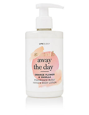 Orange Flower & Vanilla Fragranced Burst Hand & Body Lotion 250ml