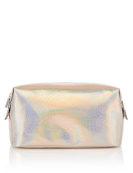 Holographic Design Make-Up Bag