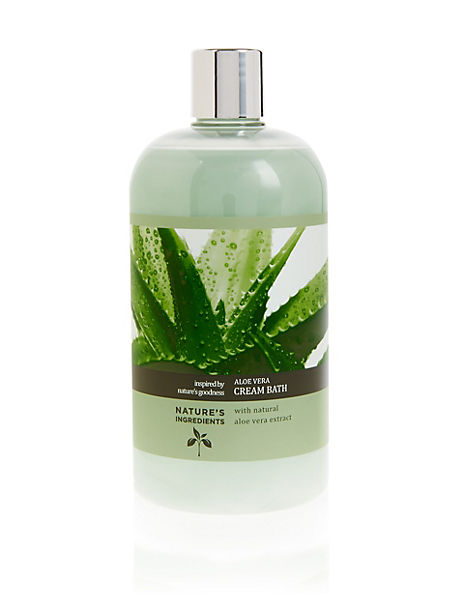 Aloe Vera Bath Cream 500 ml