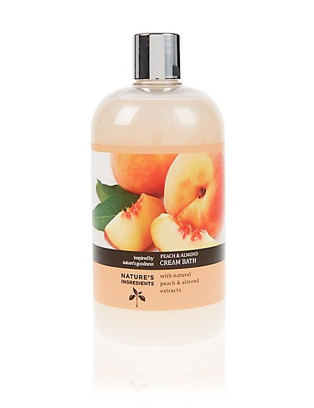 Peach Cream Bath 500 ml