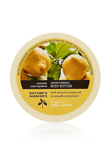 Lemon Verbena Body Butter 200ml