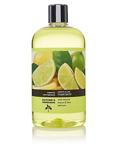Lemon & Lime Foam Bath 500ml