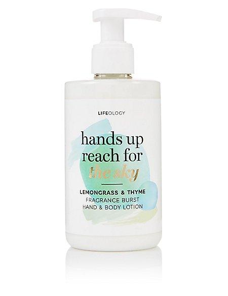 Lemon Grass & Thyme Fragranced Burst Hand & Body Lotion 250ml