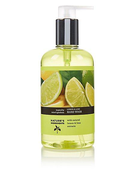 Lemon & Lime Hand Wash 300ml