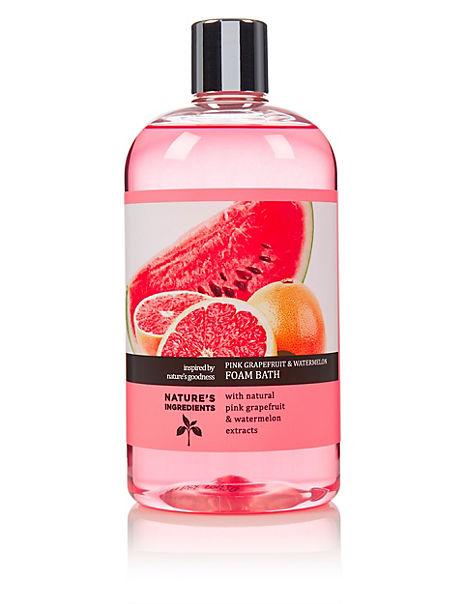 Pink Grapefruit & Watermelon Foam Bath 500ml