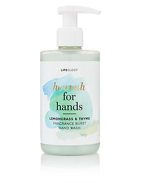 Lemon Grass & Thyme Fragranced Hand Wash 250ml