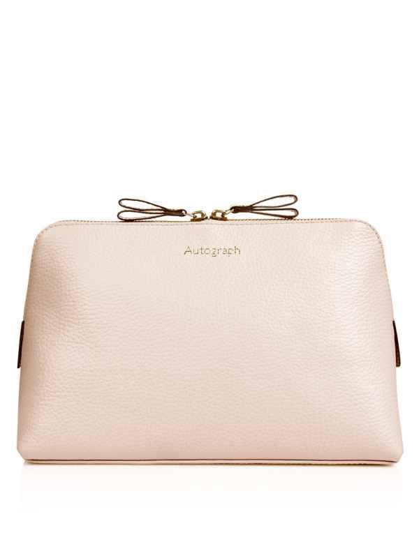 Luxury Leather Wash Bag ddac0492601b2