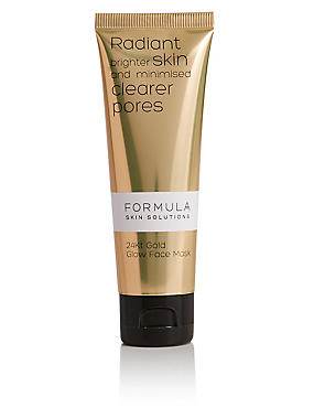 Skin Solutions 24Kt Gold Glow Face Mask 50ml