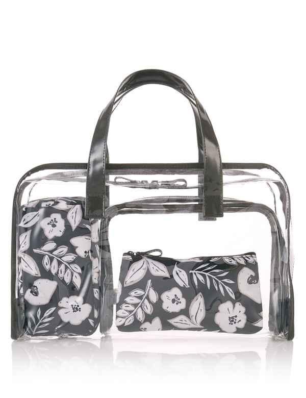 17c7c37e0e 4 Piece Floral Print Bag Set