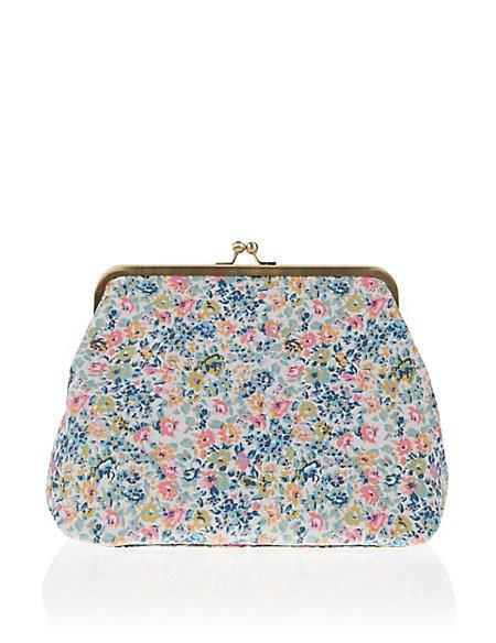 Vintage Floral Wash Bag