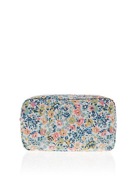 Vint Floral Make Up Bag