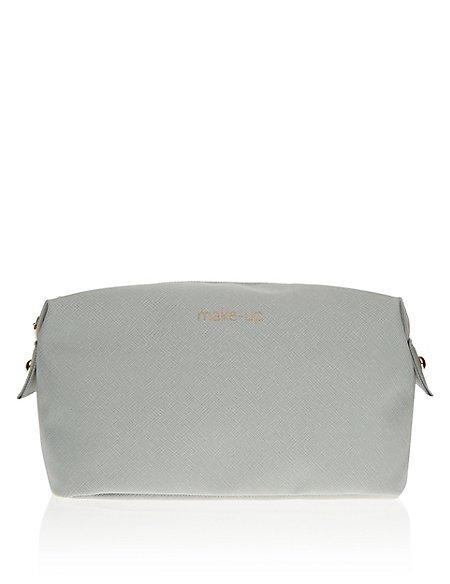 Grey Make Up Bag