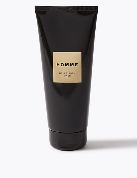 Homme Hair & Body Wash 200ml