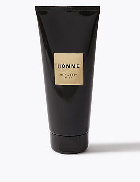Homme Hair & Body Wash 200ml