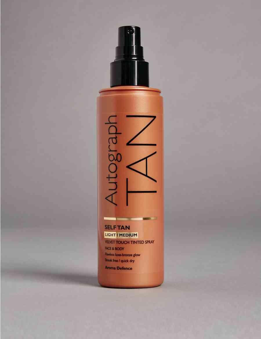 484829152242d Self Tan Tinted Spray - Light to Medium 200ml