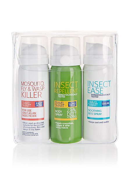 Repellent Travel Kit