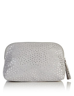 Grey Cosmetic Bag