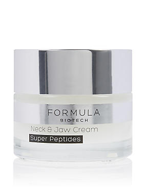 Biotech Neck & Jaw Cream Super Peptides 50ml