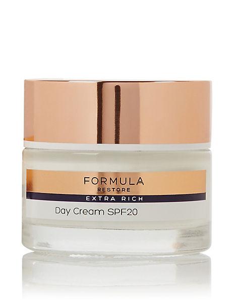 Free Gift* Restore Extra Rich Day Cream SPF20 50ml
