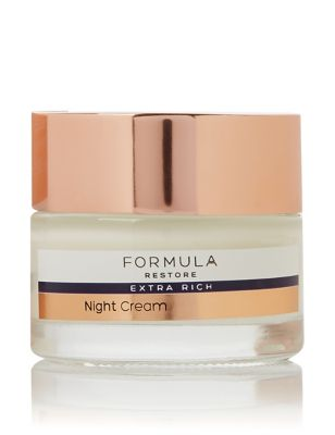 Restore Extra Rich Night Cream 50ml by Marks & Spencer