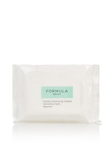 Facial Cleansing Wipes Sensitive Skin
