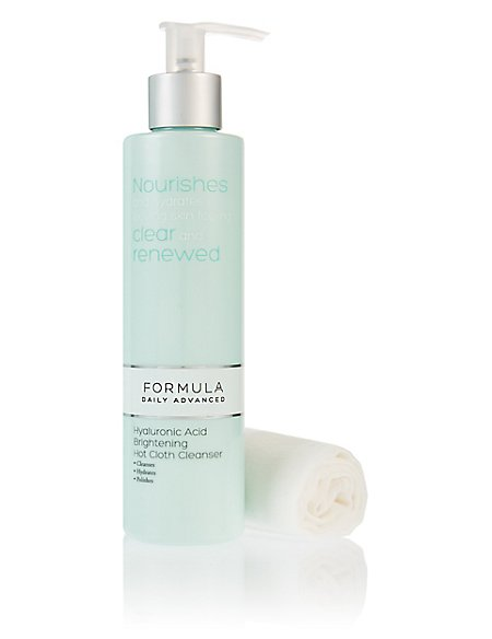 Hyaluronic Acid Brightening Hot Cloth Cleanser 200ml