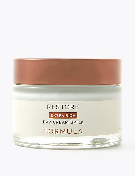 Restore Extra Rich Day Cream SPF 15 50ml