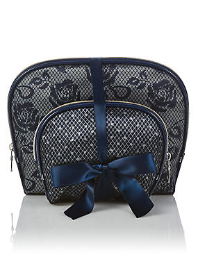 2 Pack Lace Bag Set