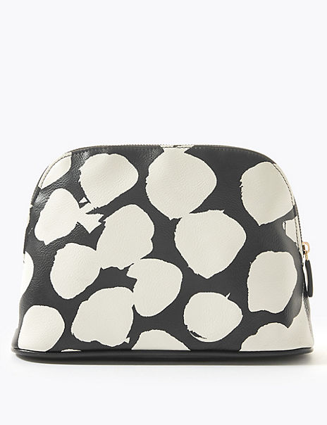 Mono Print Make-Up Bag