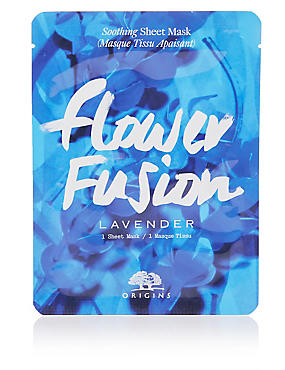 Flower Fusion™ Hydrating Sheet Mask - Lavender