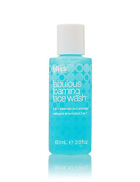 Fabulous Foaming Face Wash 60ml