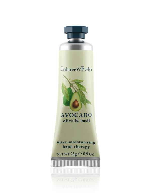 Avocado Olive & Basil Hand Therapy 25g. Crabtree & Evelyn®
