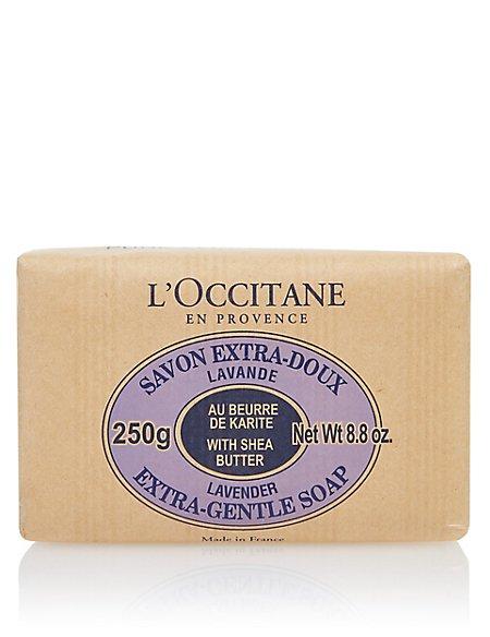 Shea Lavender Soap 250gm
