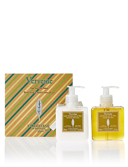 Refreshing Verbena Hand Wash & Lotion Duo