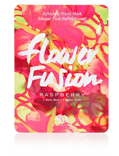 Flower Fusion™ Hydrating Sheet Mask - Raspberry