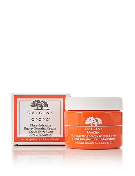 Ginzing™ Ultra-Hydrating Energy-Boosting Cream 50ml