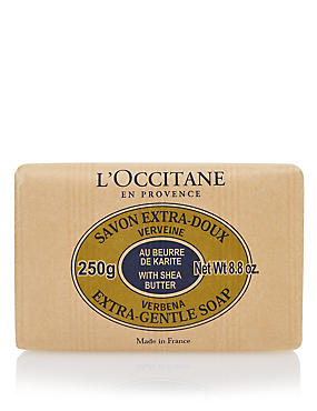 Shea Verbena Soap 250gm