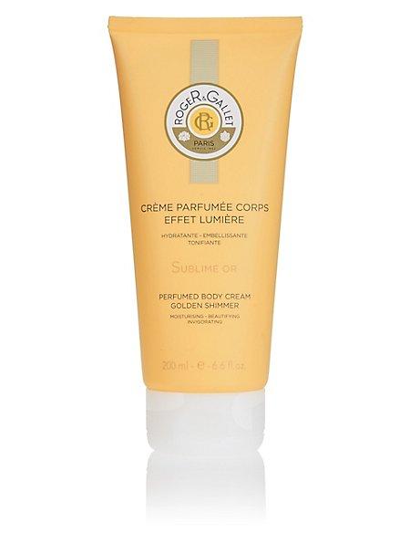 Bois D'Orange Gold Shimmer Body Cream 200ml