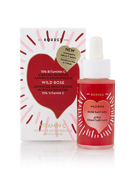 Wild Rose Advanced Brightening Bi-Phase Booster 30ml
